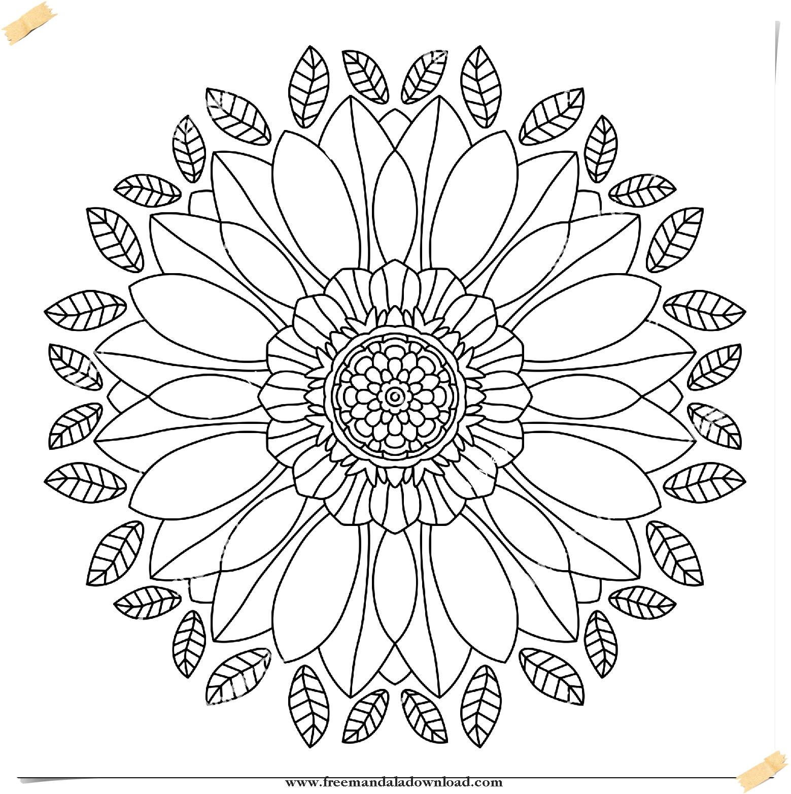 Liebe Mandala kostenloser Download-Love Mandala free download