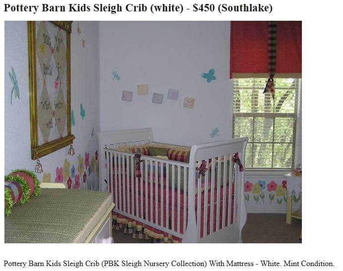 Pottery Barn Sleigh Crib Assembly Instructions Manual Uploadal
