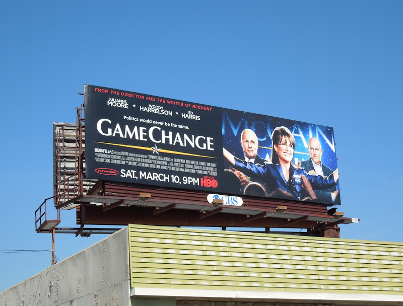 Game Change HBO billboard