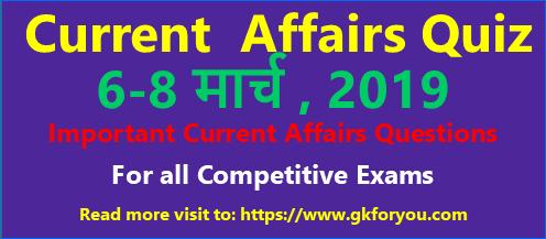 current-affairs-quiz-2019