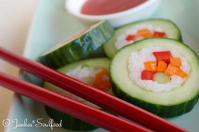 Cucumber-Sushi-Rolls