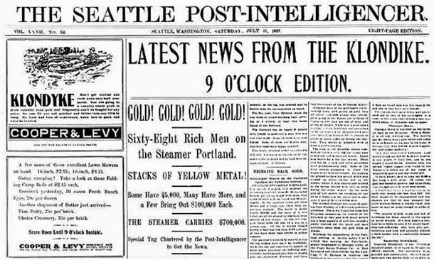 Periódicos Klondike Gold Rush