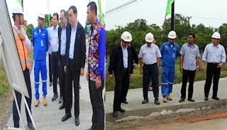Indocement Bangun Jalan Beton 2,4 Kilometer di Desa Tarjun
