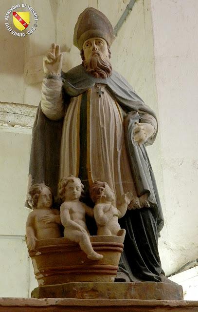 Saint-Nicolas (XVIIe siècle) - Église de Champougny (55)