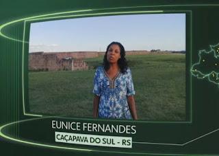 """PAMPA GAÚCHO:  Vídeo de caçapavana é mostrado na campanha """"O Brasil que eu quero"""", da Rede Globo"""