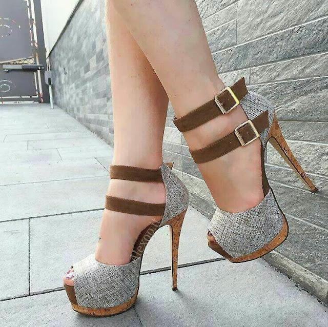 Heels-sandal