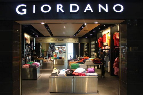Foto Outlet Giordano Indonesia