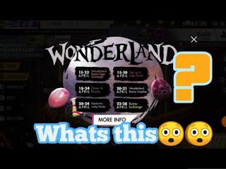 Cara mendapatkan telur hijau free fire, Di Event Wonderland Free Fire