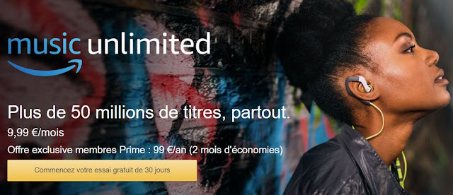 Amazon Music Unilimited est enfin disponible en France