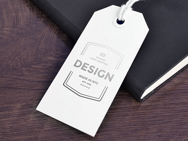 Download Template Mockup Terbaru - Paper Tag Mockup