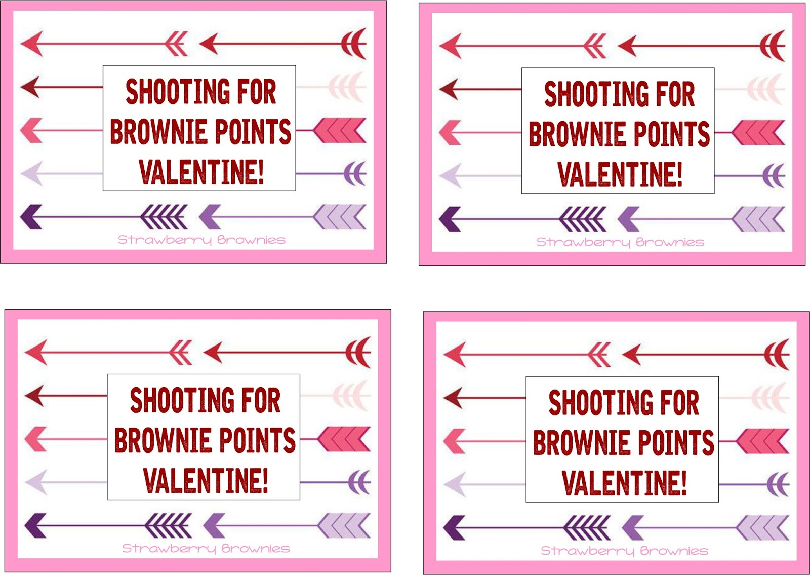 Intrepid image in shooting for brownie points free printable