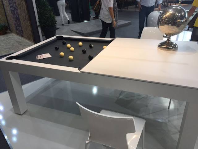 Small Multifunctional Plug-in Side Table Style Small Multifunctional Plug-in Side Table Style Toulet and Christophe Lambert Pool table and dining table