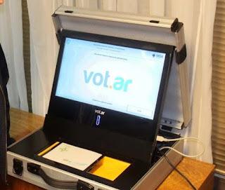 Voto electrónico la tecnología para seguir igual