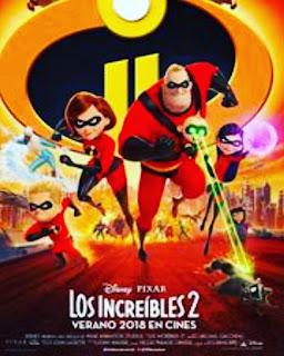 película, cine, cartelera, los increibles 2, the incredibles 2,