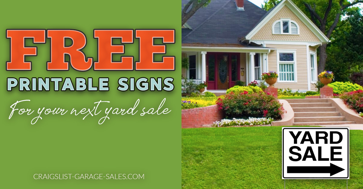 photo regarding Printable Yard Signs identify Absolutely free Printable Back garden Sale Signs and symptoms and Garage Sale Printables