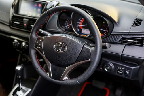 Interior Toyota New Vios 2017