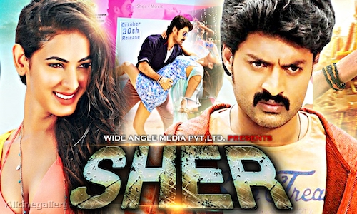 Sher 2017 HDRip 850Mb Hindi Dubbed 720p