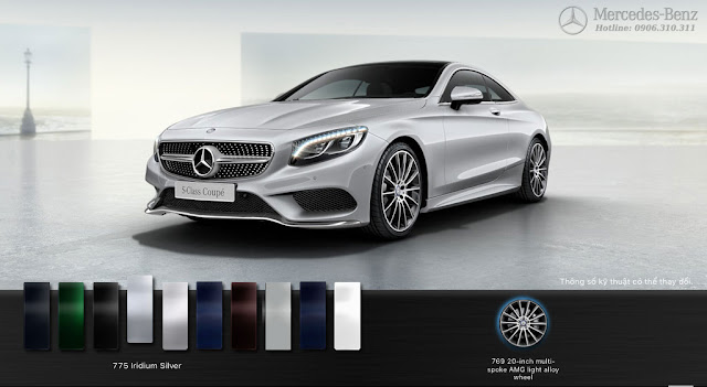 Mercedes S400 4MATIC Coupe 2017