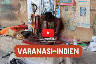 Arkadij und Katja auf Weltreise, Bremerhavener in INDIEN, Varanasi, wir erleben Kulturschock! Leichen verbrennen