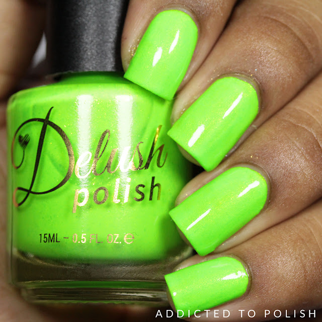 Delush Polish Girls Just Wanna Have Sun Nautical by Nature Swatches and Review