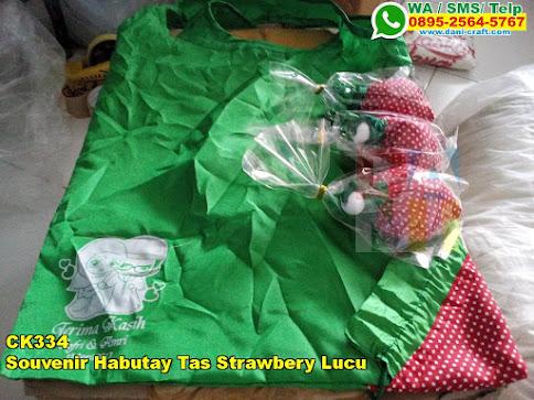 Toko Souvenir Habutay Tas Strawbery Lucu