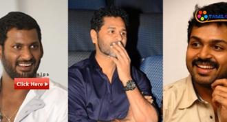 Prabhu Deva To Direct Karthi Vishal Film Karuppu Raja Vellai Raja