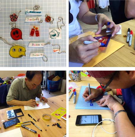 WahSoSimple's Shrink Plastic Workshop with Popin