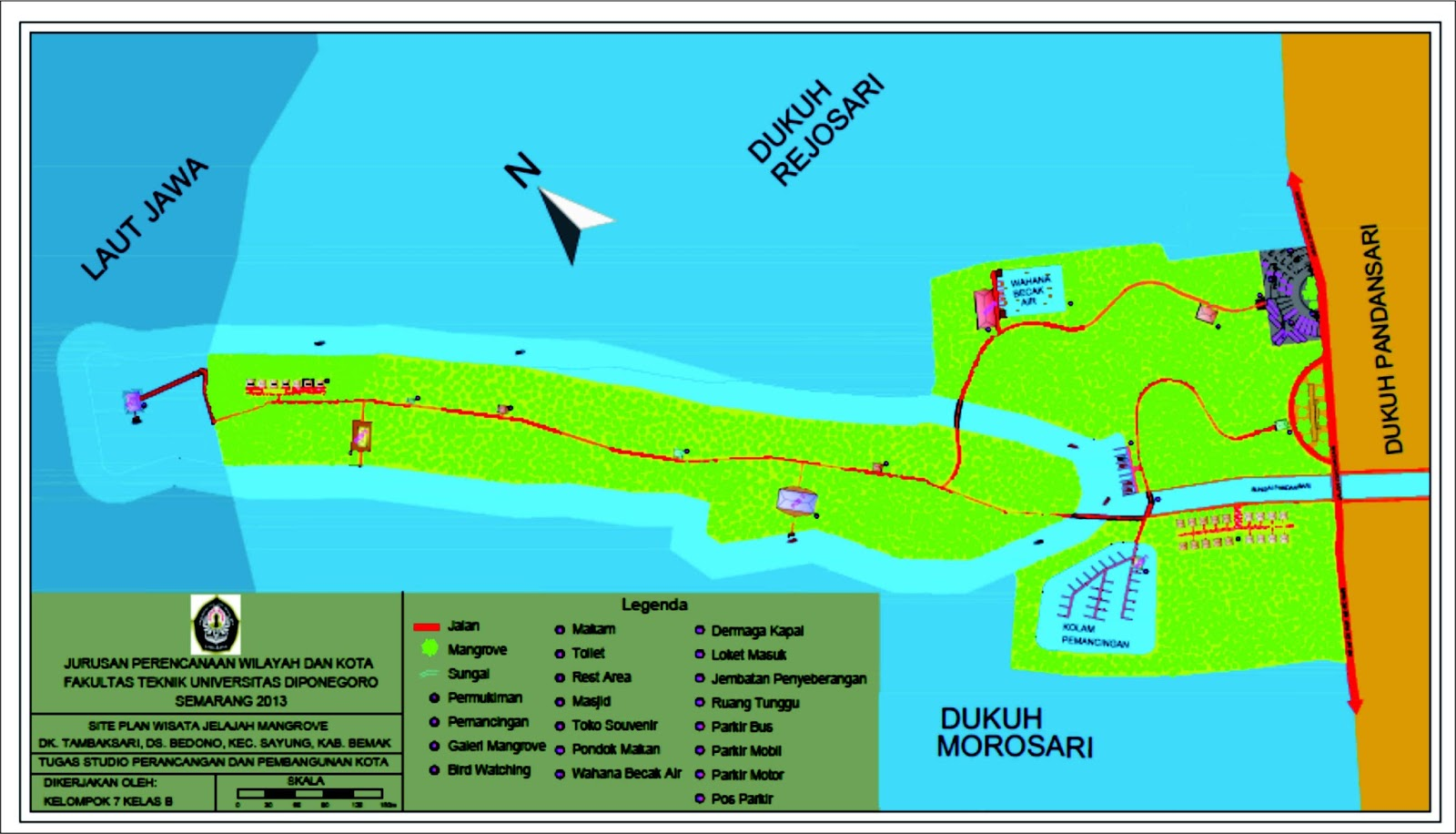 medium resolution of selain itu juga merupakan bentuk visualisai konsep wisata jelajah mangrove dalam bentuk 3d