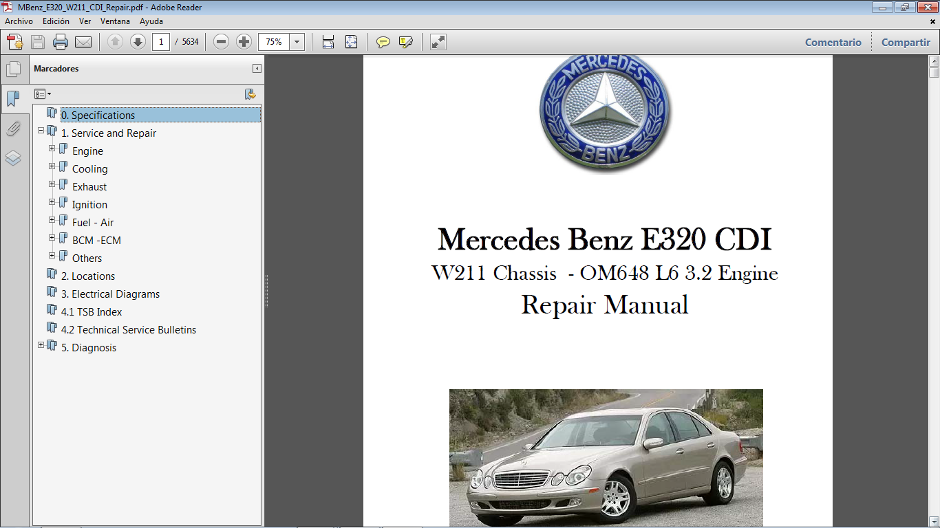 w211 cdi manual operating manual guide u2022 rh astra freewayprojects com Mercedes W210 Diesel Mercedes- Benz W210 Body Kits