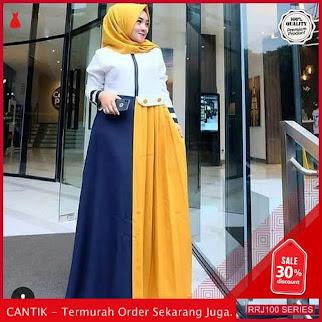 Jual RRJ100D177 Dress Hatifa Maxy Wanita Sk Terbaru Trendy BMGShop