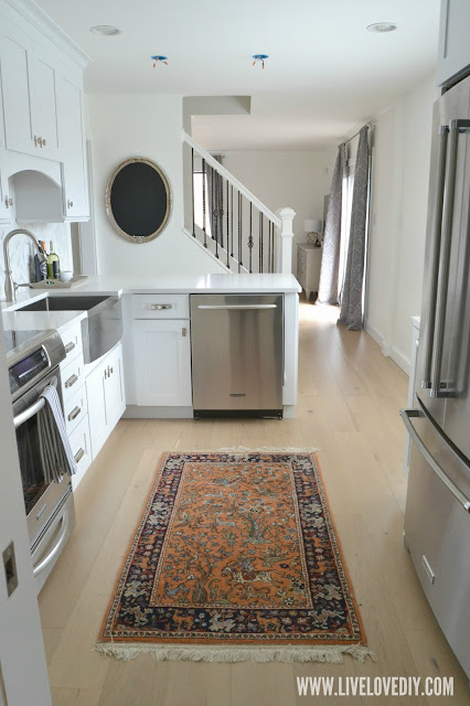 kitchen makeover rug