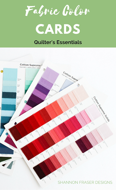 Ultimate gift guide for the modern quilter in your life | Fabric Color Cards | Books, Gift Cards, Tools & Notions are just some of the categories covered in these Christmas gift ideas
