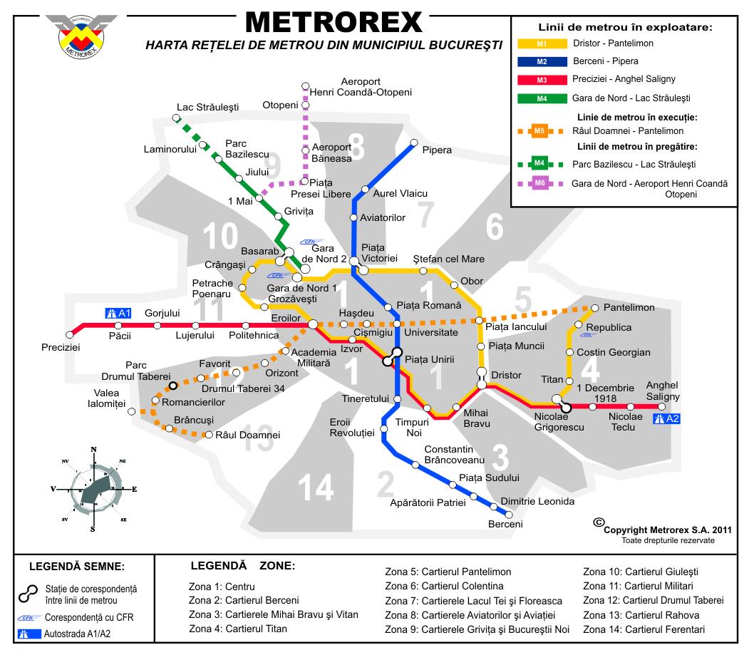 Despre Harta Metrorex Bucurestii Vechi Si Noi