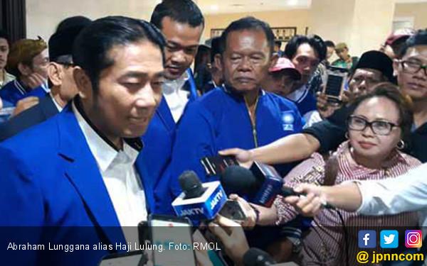 Pakai Jas PAN, Haji Lulung Disambut Takbir Beberapa Kali