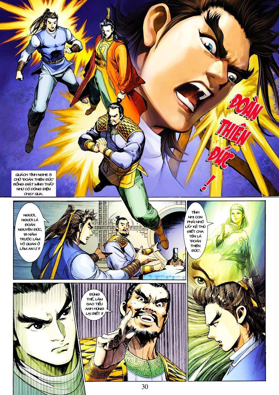 Anh Hùng Xạ Điêu anh hùng xạ đêu chap 33 trang 30