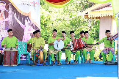 Musik dan Lagu Melayu di Pembukaan Festival Pulau Penyengat 2019