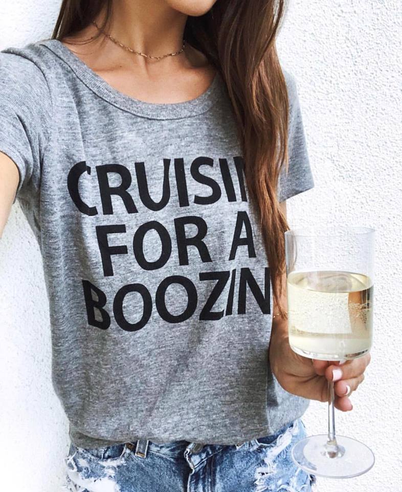 Cruisin for a boozin t-shirt
