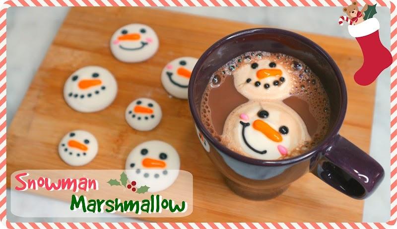 Snowman Marshmallow 雪人棉花糖