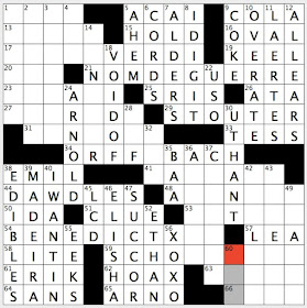 Rex Parker Does the NYT Crossword Puzzle: Longtime