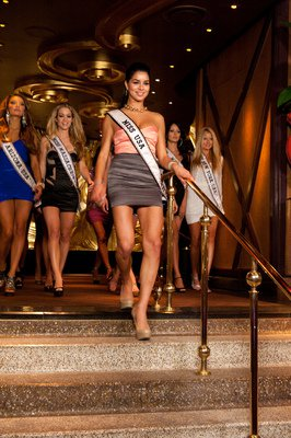 Photos of Miss USA 2011 Contestants at XS Nightclub at Encore in Las Vegas