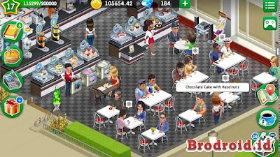 Download My Cafe: Recipes & Stories v2017.6 Mod Apk+DATA