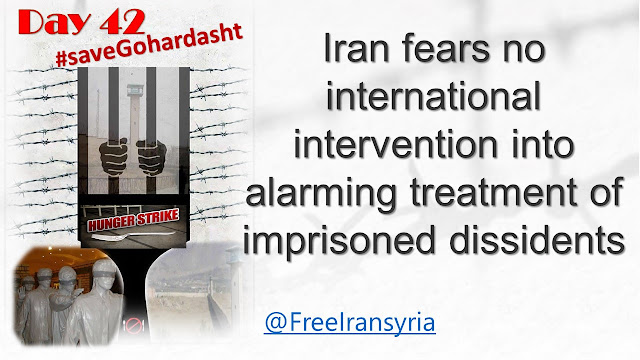 Iran fears no international intervention into alarming treatment of imprisoned dissidents