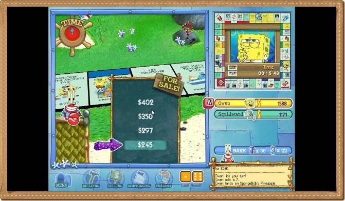 Monopoly SpongeBob SquarePants Edition Gameplay