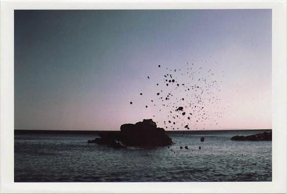 dirty photos - time - cretan landscape photo of rocks in the sea near plakias