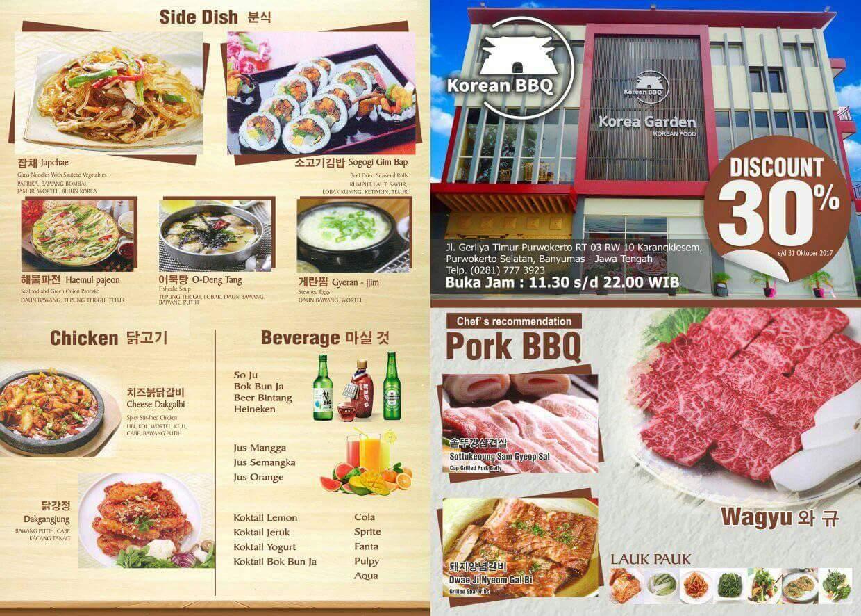 Korea Garden Restaurant Purwokerto