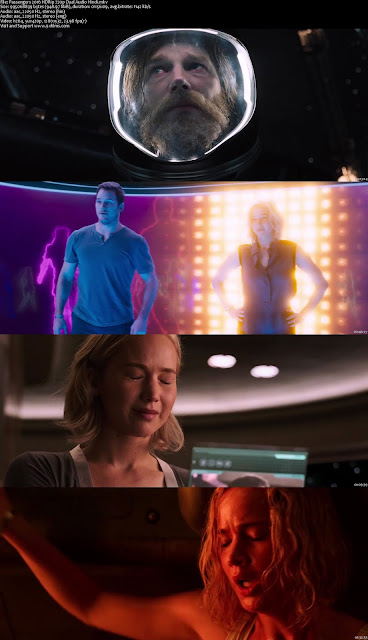 Passengers 2016 HDRip 720p Dual Audio Hindi