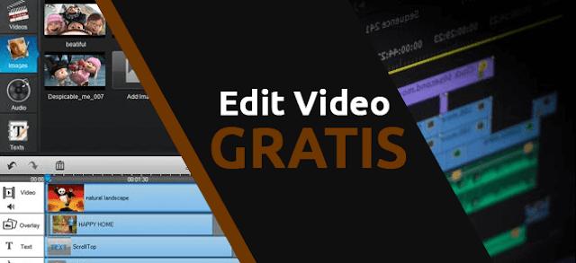 Aplikasi (software) yang biasa digunakan untuk edit video di pc dengan gratis