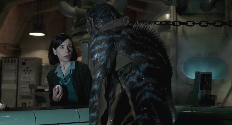 'La forma del agua' de Guillermo del Toro - protagonistas