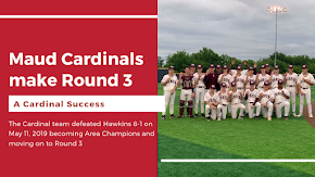 Maud becomes Area Champion and moves to Round 3 of baseball playoffs