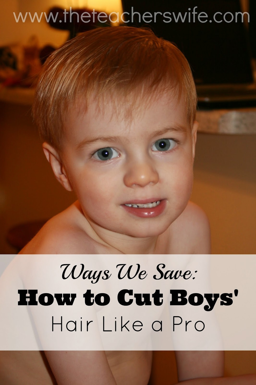 How To Cut Boys Hair